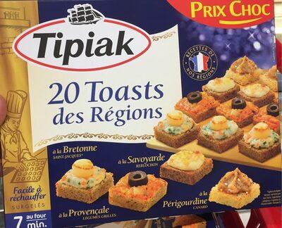 Toasts des Régions - Produit