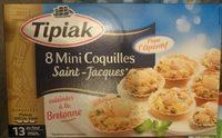 8 Mini Coquilles Saint-Jacques - Produit - fr