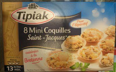 8 Mini Coquilles Saint-Jacques - Produit