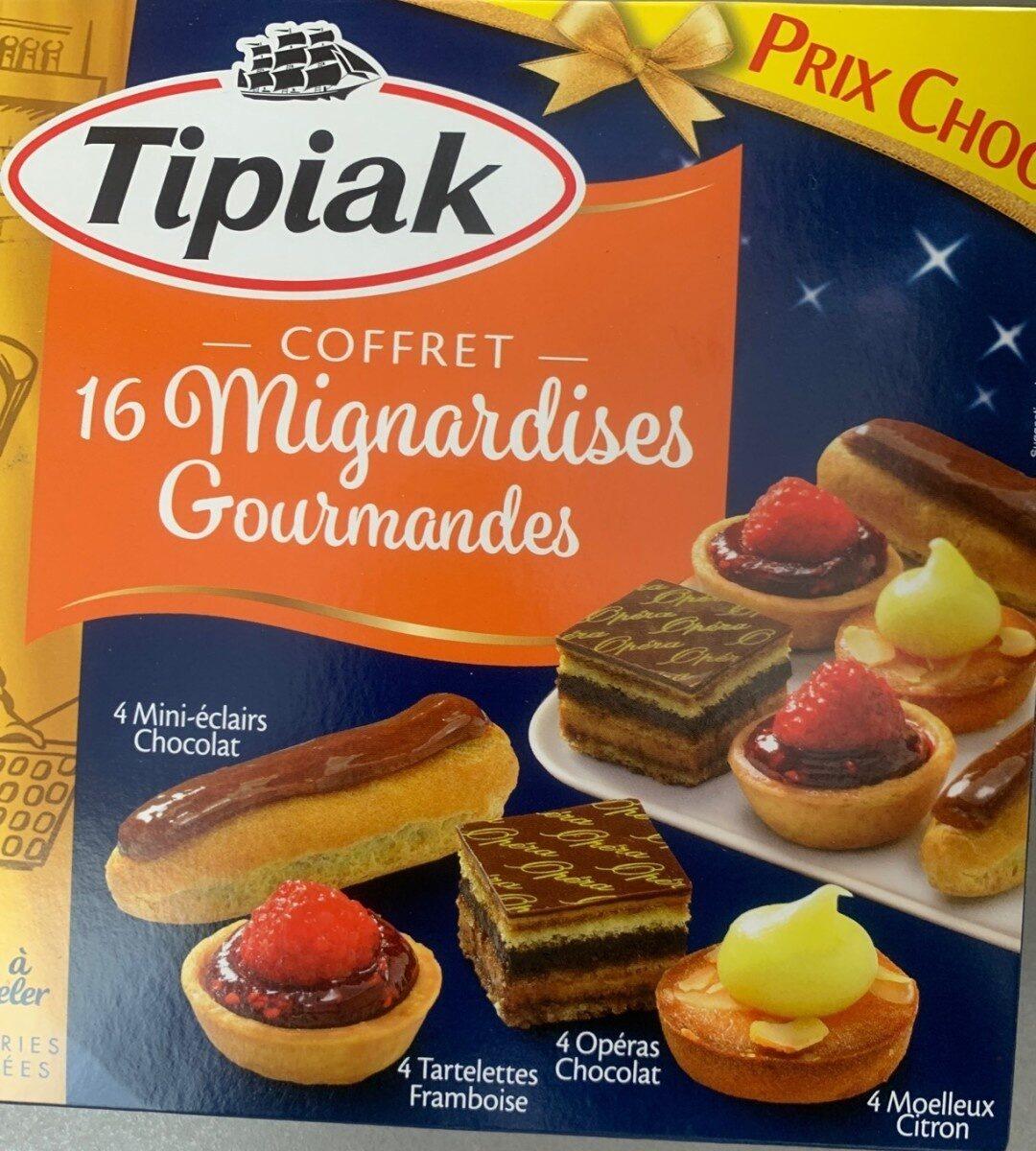 16 mignardises gourmandes - Produit