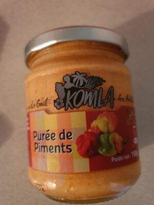 Purée de piments à l'huile - Product