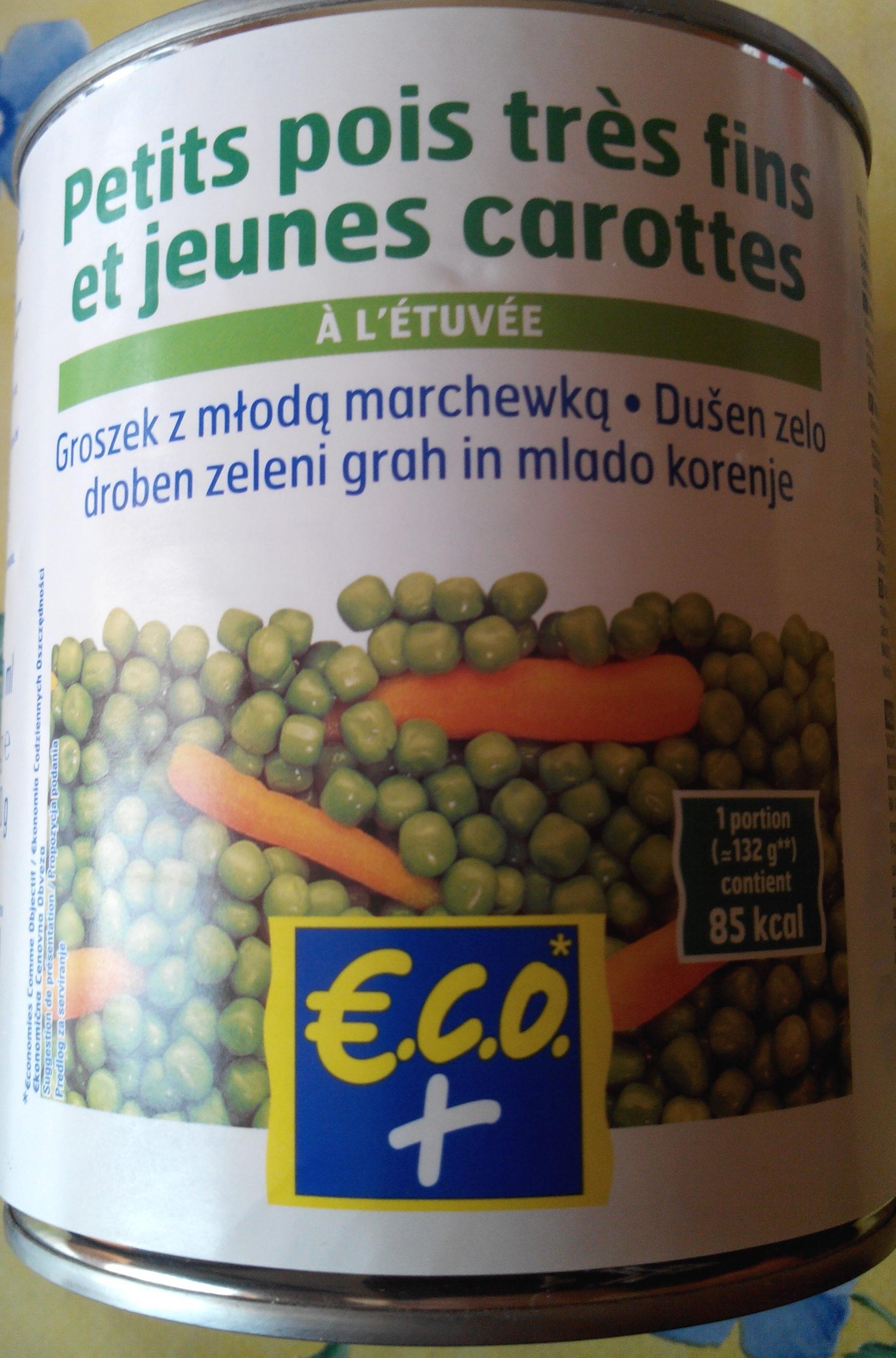Petits pois très fins et jeunes carottes - Produit