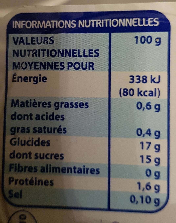 Flan Vanille 4X - Eco - 400 g (4 * 100 g)