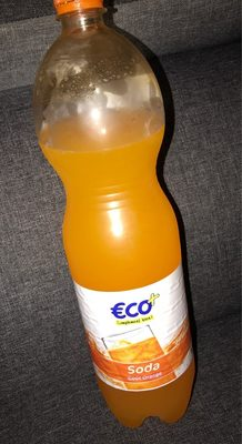 SODA GOUT ORANG - Produit