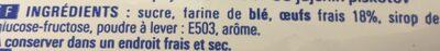 Boudoirs 400G Eco+ - Inhaltsstoffe - fr