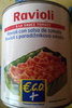 Ravioli à la sauce tomate - Product
