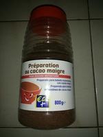 Preparation au cacao maigre - Produkt - fr