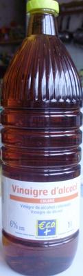 Vinaigre d'alcool coloré (6% d'acidité) 1 litre - €co + - Product - fr