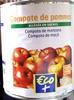 Compote de pommes allégée en sucre - Product
