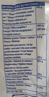 PAINS GRILLES BLE COMPLET - Nutrition facts