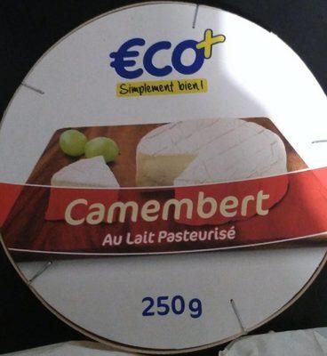 Camembert (21% MG) au lait pasteurisé 250 g - Produit - fr