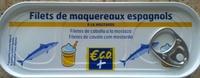 Filets de maquereaux espagnols à la moutarde - Product - fr