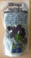 Olives noires à la grecque - Produkt