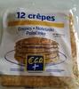 12 crêpes - Produit