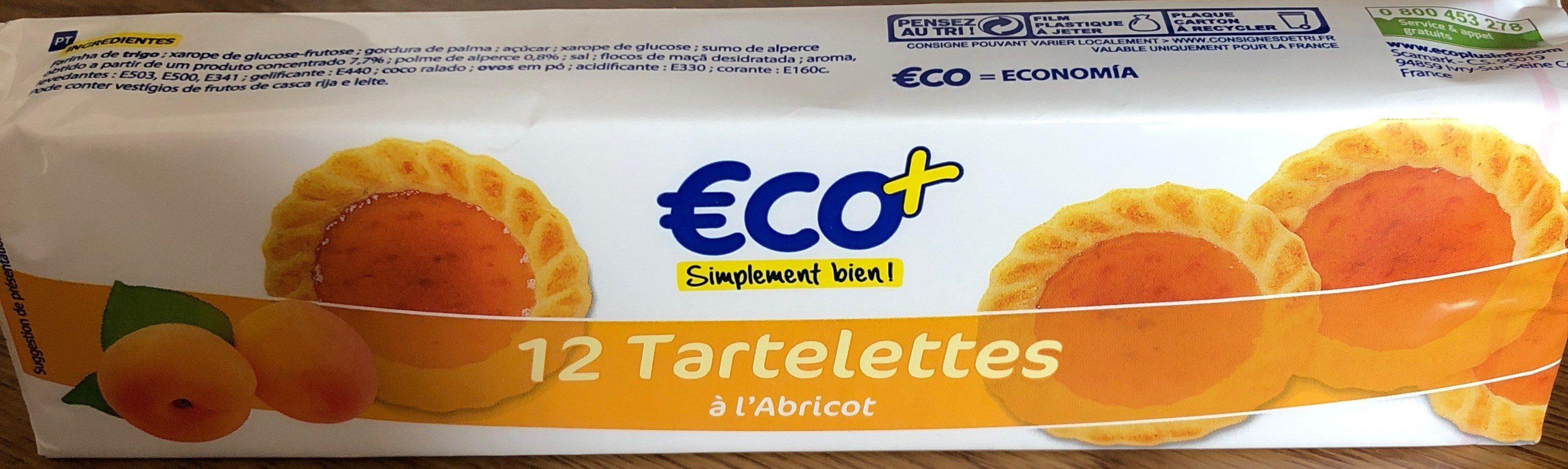 TARTELETTES ABRICOT ECO+ 200G - Product - fr
