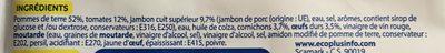 SALADE PIEMONTAISE - Inhaltsstoffe - fr