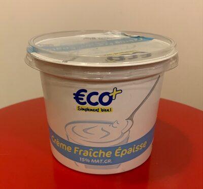 Crème fraîche Épaisse (15% MG) - Produit - fr