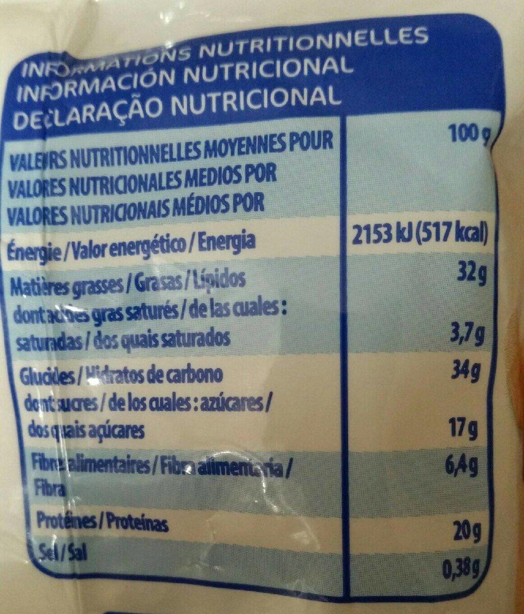 Melange de Graines et de Raisins 200G Eco+ - Voedigswaarden