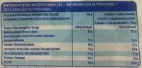 Pains au chocolat x10 - Informations nutritionnelles - fr