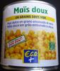 Maïs doux ECO+ - Produit