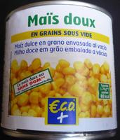 Maïs doux ECO+ - Product