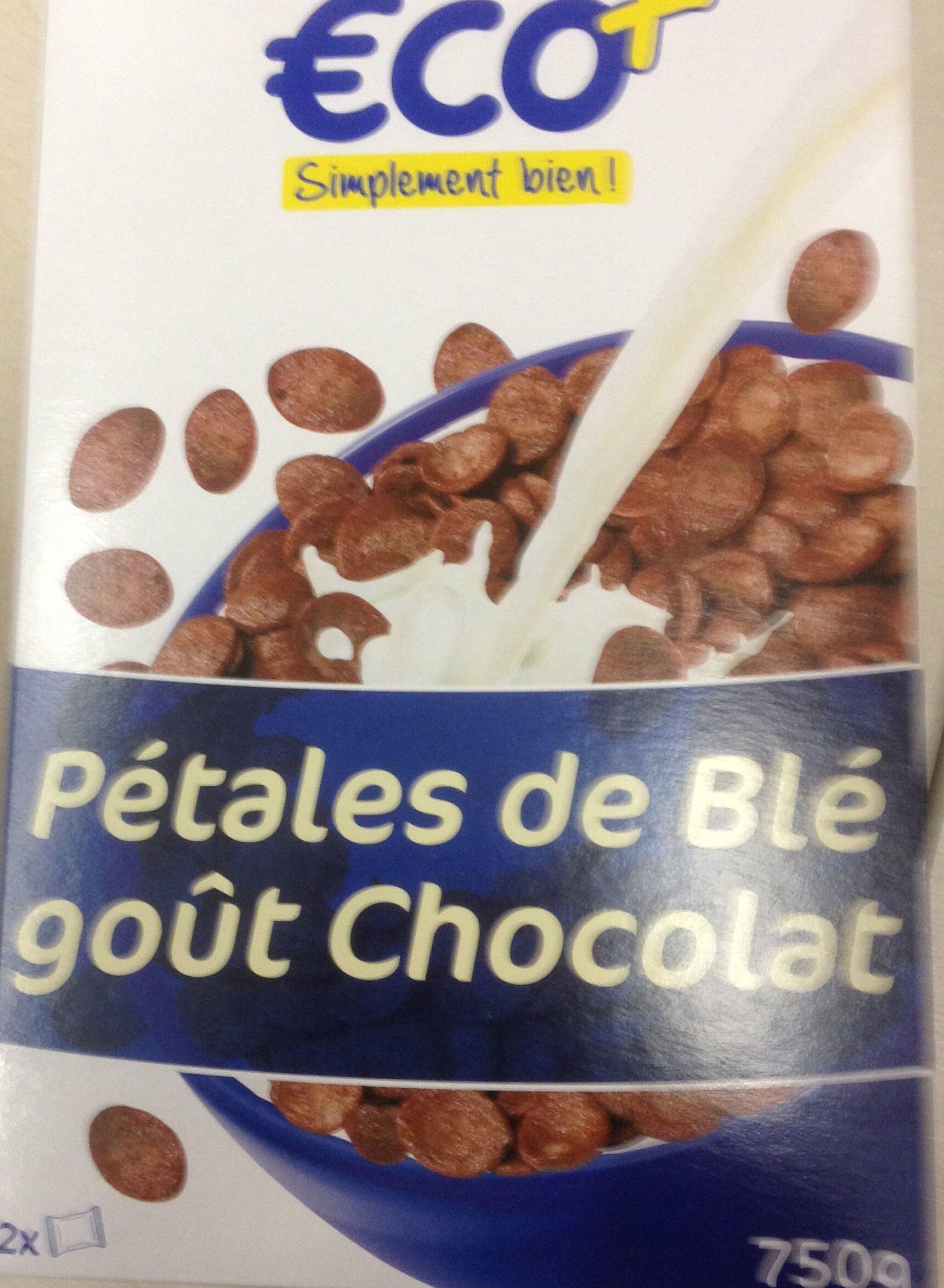 Pétales de blé goût Chocolat - Produit - fr