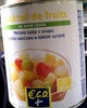 Cocktail de fruits au sirop léger - Product