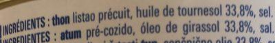 Miettes de thon listao - Ingredienti - fr