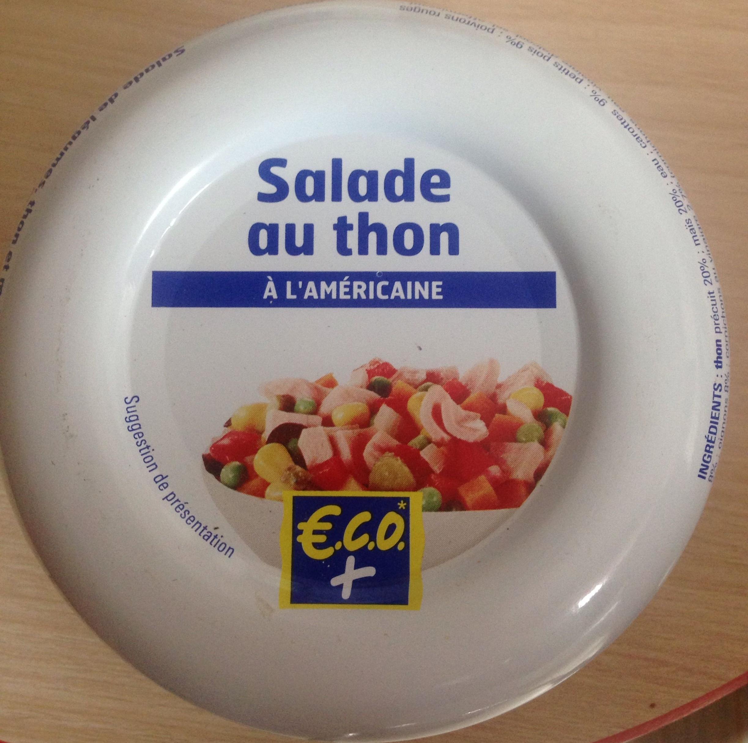 Salade de Thon à l'Américaine - Product