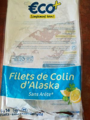 Filet de colin d'Alaska - Produit - fr