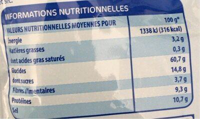 Potage tomate aux vermicelles - Informations nutritionnelles - fr