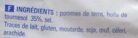 Chips Nature - Ingrédients - fr