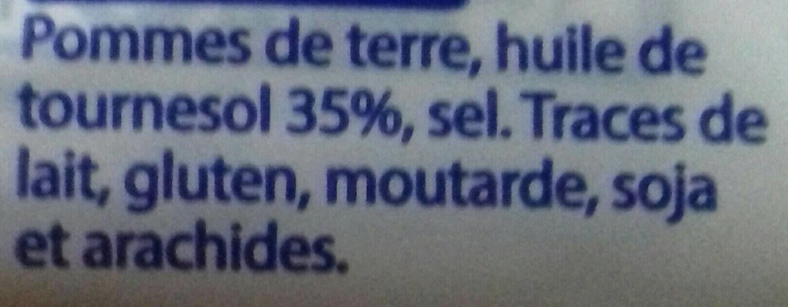 Chips natures - Ingredienti - fr