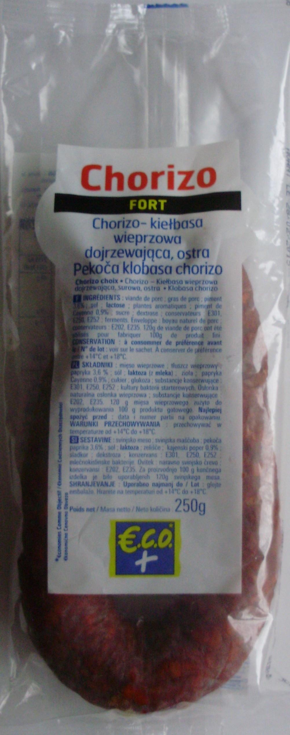 Chorizo (Fort) - Product