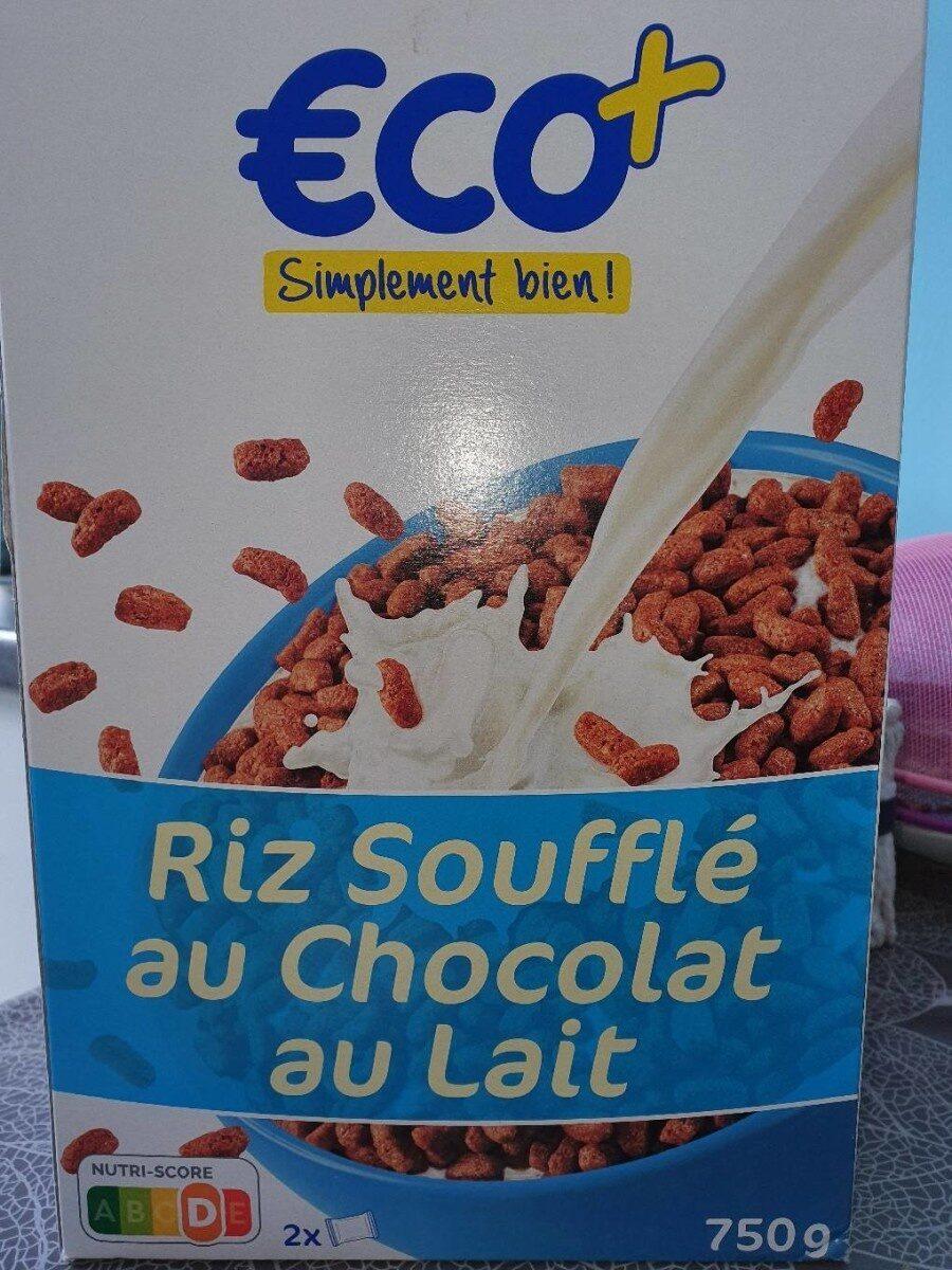 Riz soufflé au chocolat au lait - Produit - fr