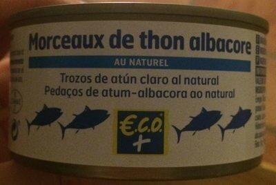 Morceaux de thon albacore au naturel - Prodotto - fr