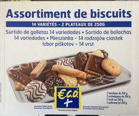 Assortiment de biscuits 14 variétés - Product - fr