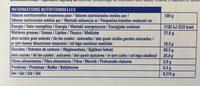 Assortiment de biscuits 14 variétés - Voedingswaarden - fr