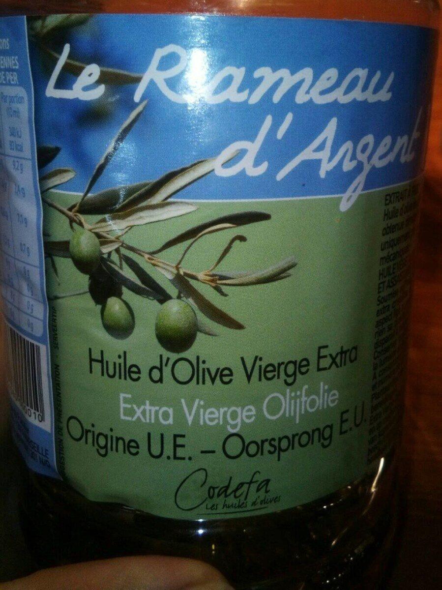 2L Huile Blle Pet D' Olive Vierge Extra R. argent - Nutrition facts