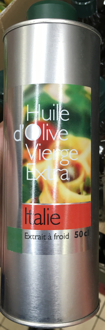 Huile d'olive vierge extra Italie extrait à froid - Product - fr