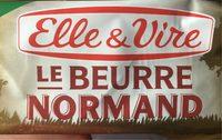 le Beurre normand demi sel - Produit - fr