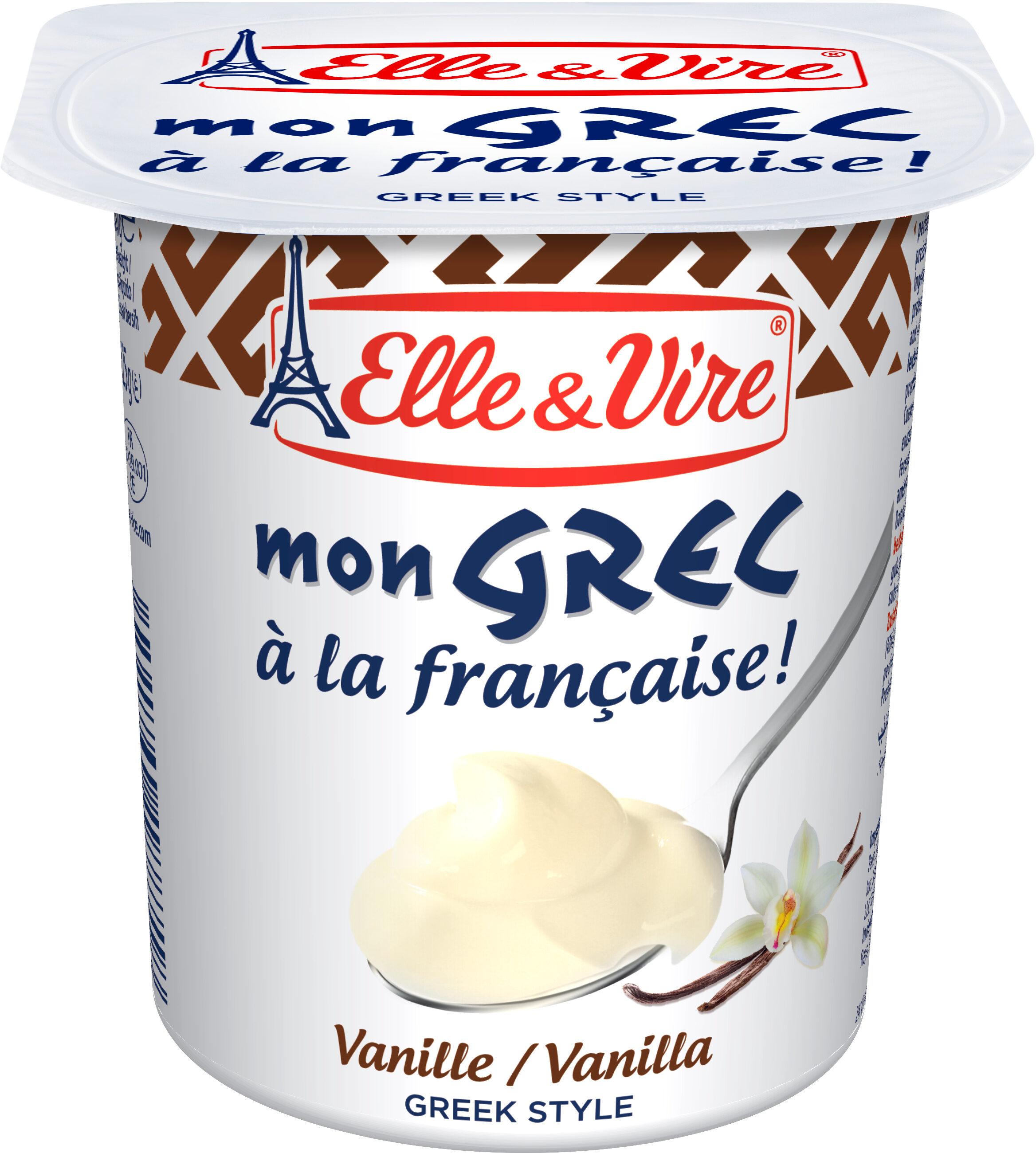 Dessert lacté Mon Grec vanille - Produit - fr