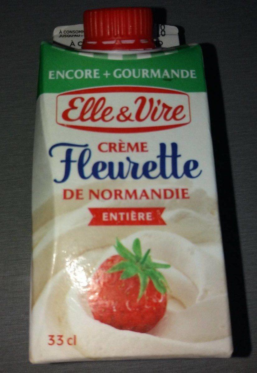 Crème fleurette de Normandie - Product - fr