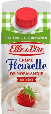 La Crème Fleurette entière de Normandie - Product - fr