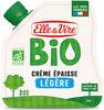 La Crème légère épaisse biologique en poche - Product