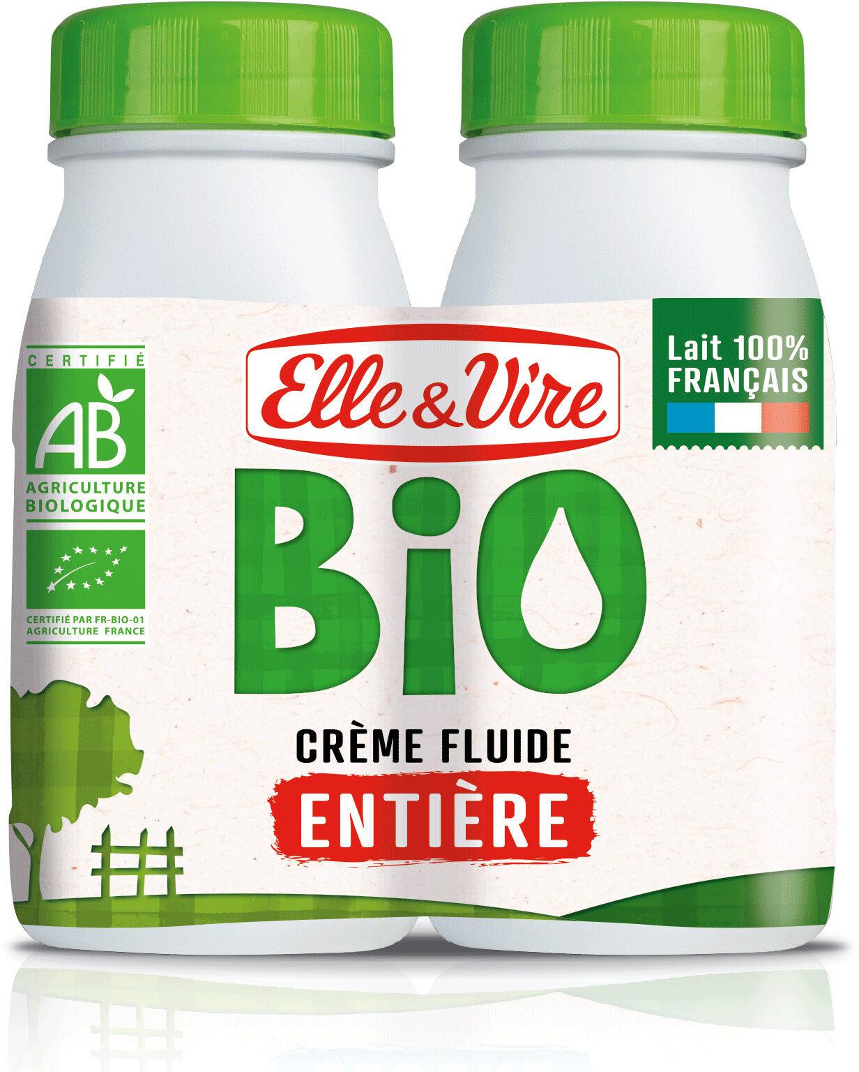La Crème fluide bio entière - Product - fr