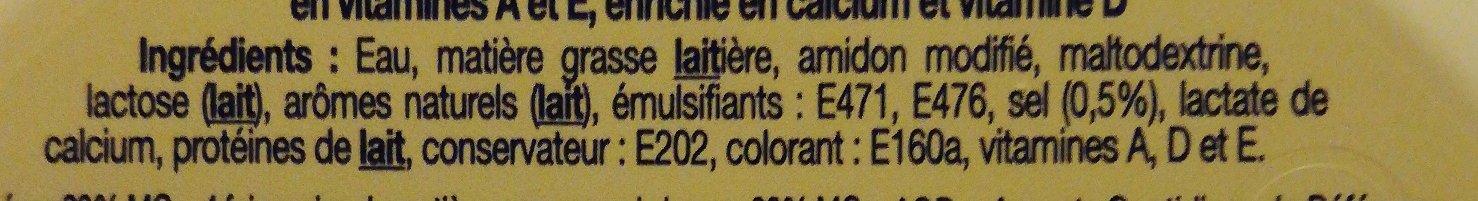 Léger 20% - Ingredienti - fr
