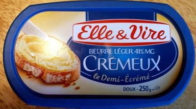 Beurre léger 41% MG Crémeux Le Demi-Ecrémé Doux - Product - en