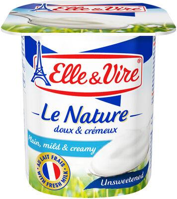 Dessert lacté Nature - Non sucré - Produit - fr