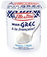 Dessert lacté Mon Grec - Nature - Product - fr